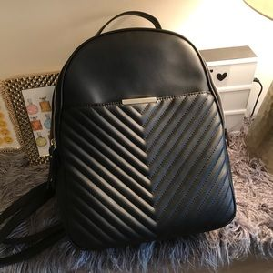 Handbags - NWT vegan leather quilt pattern backpack bag